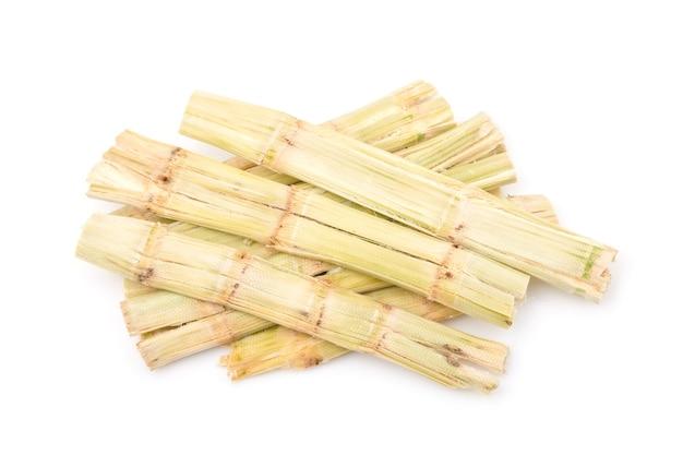 Pila di bagassa di canna da zucchero