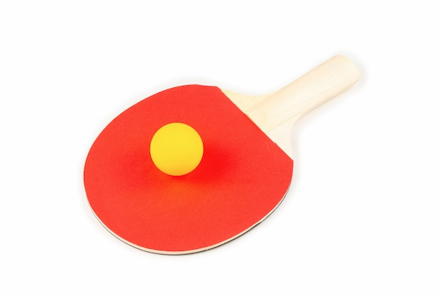 Pin pong su un'arancia
