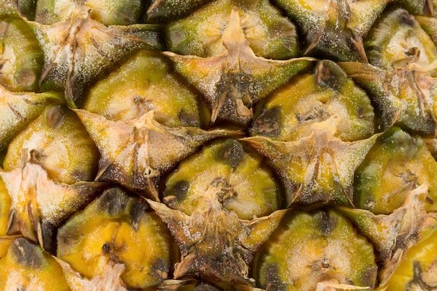Struttura del primo piano di ananas