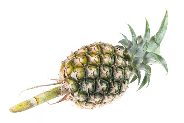Ananas isolato su bianco