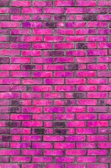 Muro di mattoni rosa. interno di un loft moderno. sfondo per il design