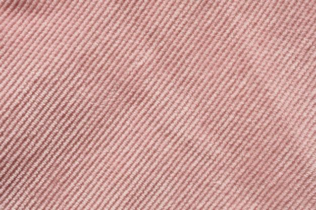 Fine rosa del fondo di struttura del panno del tessuto su