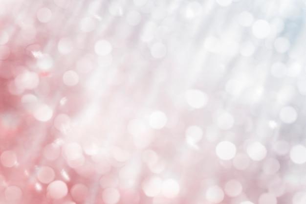 Illustrazione di sfondo con texture bokeh oro rosa