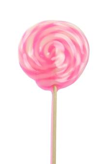 Lecca-lecca rosa isolato