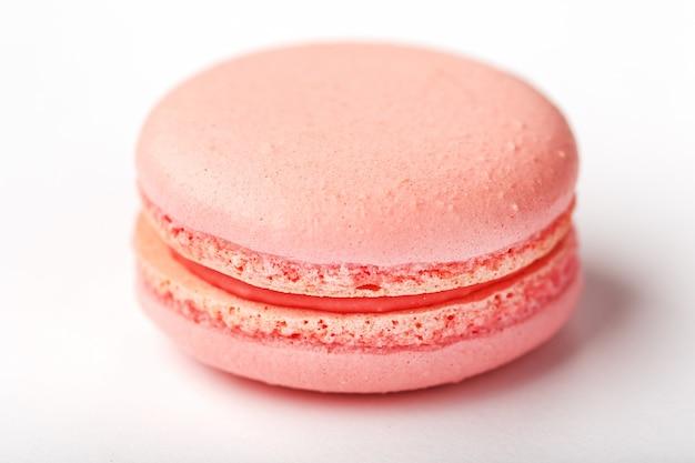 Biscotto macaron rosa