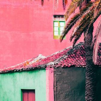All'aperto minimi rosa. viaggiare. canarie