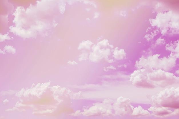 Cielo rosa pastello
