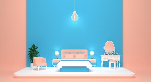 Il boudoir della principessa rosa
