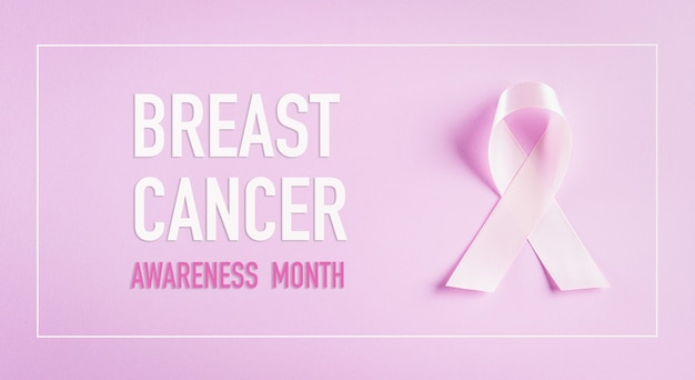 I nastri rosa firmano per il concetto di consapevolezza del cancro al seno.
