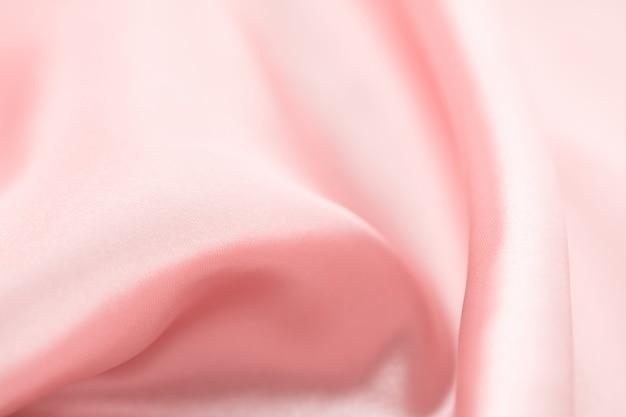 Trama di seta rosa