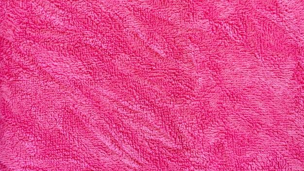Sfondo asciugamano rosa
