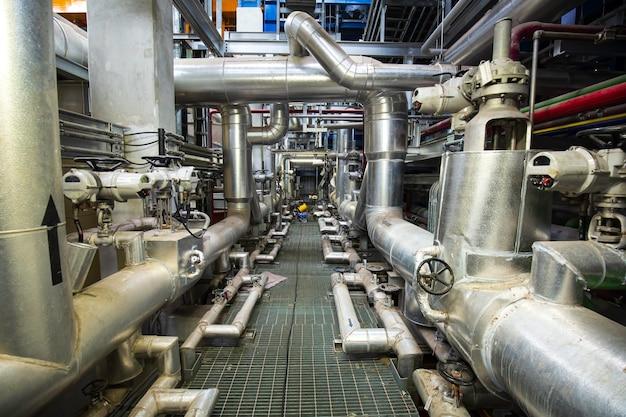Isolamento di tubazioni e valvole all'interno delle centrali elettriche della sala di controllo