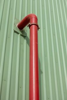 Gasdotto di approvvigionamento idrico o di servizio nella zona industriale