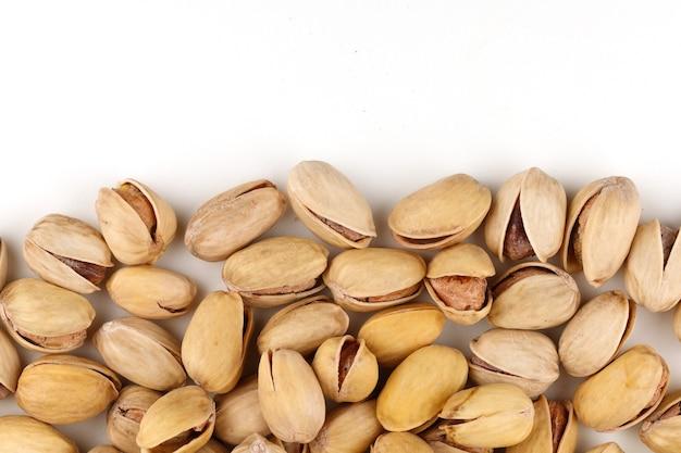 I pistacchi sono deliziose noci per lo spazio del testo