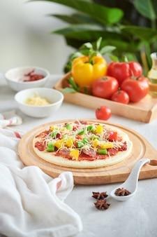 Pizza art il processo di produzione della pizza