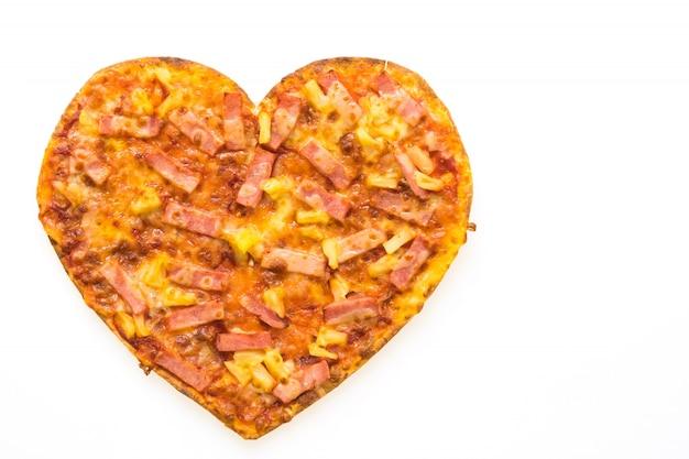Forma di cuore della pizza