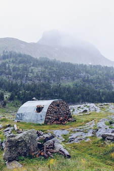 Plan estan rifugio di montagna nei pirenei