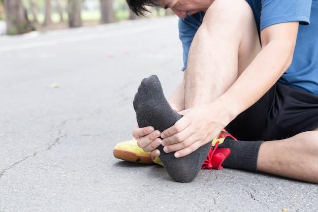 Fascite plantare, concetto di lesioni sportive