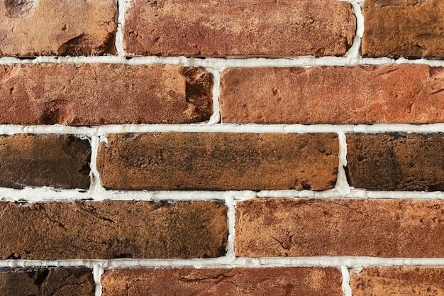 Muro di mattoni in gesso. sfondo. foto di alta qualità