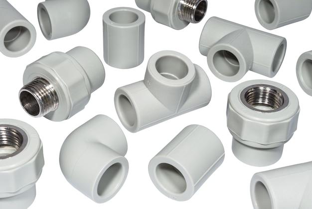 Raccordi in plastica per tubi dell'acqua in polipropilene