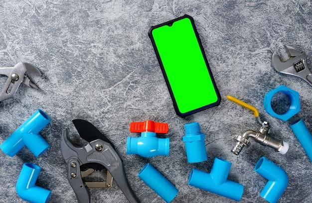 Tubi di plastica per l'utensile da taglio per tubi dell'impianto idrico rubinetto dell'acqua tastiera per smartphone