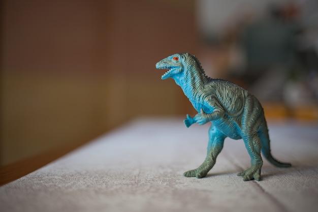 Tirannosauro in plastica giocattolo rex