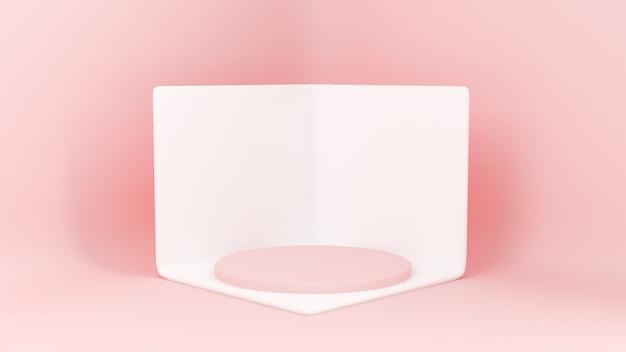 Piattaforme per la presentazione del prodotto minimalista