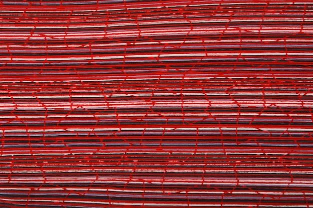 Trama di sfondo tessuto plisse. trama del tessuto plissettato. modello di struttura del tessuto pieghettato primo piano