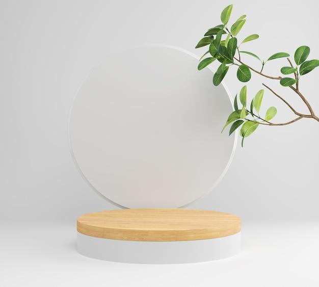 Display da podio con pianta