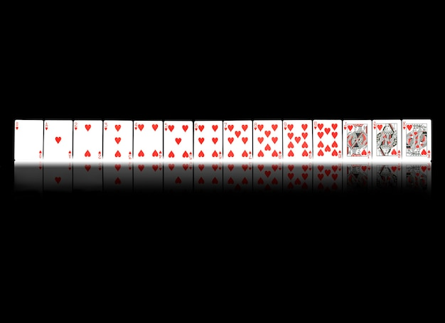 Carte da gioco del casinò del poker