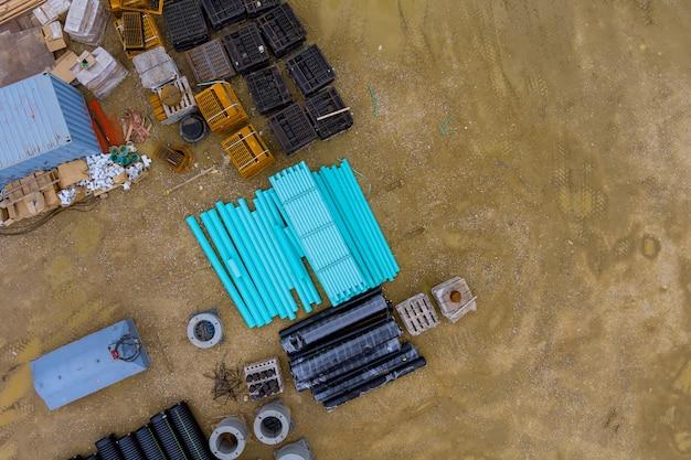 Tubi in polipropilene per la conduttura dell'acqua tubi in plastica verdi.