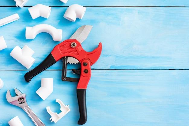 Parti di riparazione in polipropilene con spazio per la tua pubblicità.