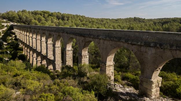 Pont del diable, tarragona, catalogna, spagna
