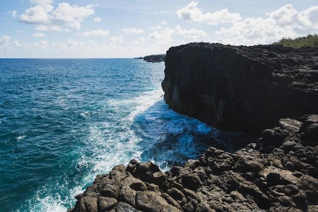 Pont naturel. maurizio. oceano indiano