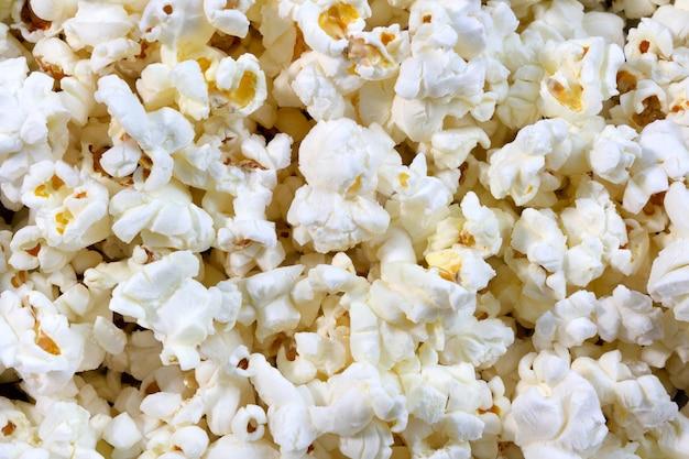 Fondo o struttura salato del popcorn