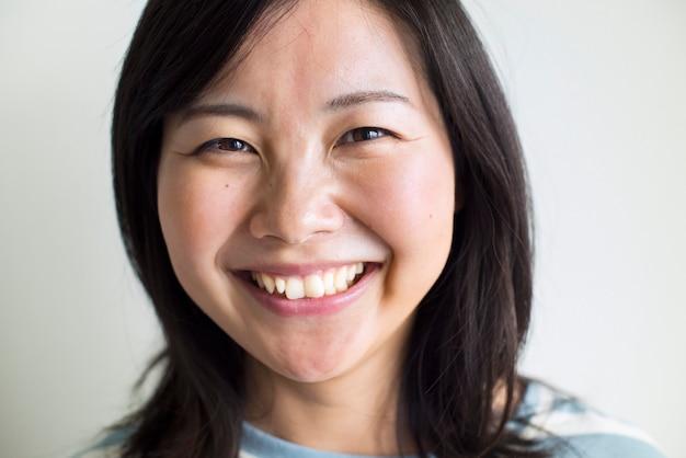 Ritratto di una donna asiatica