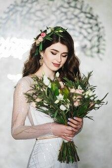 Ritratto di una bella sposa