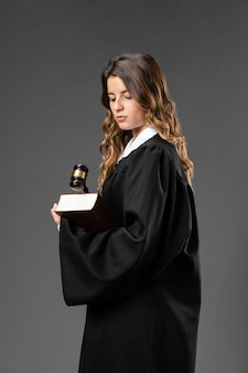 Giudice femminile del ritratto Foto Premium