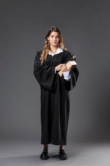 Giudice femminile del ritratto