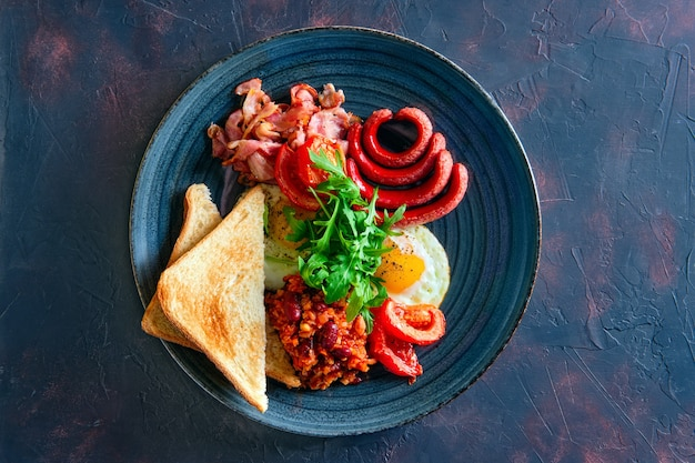 Ritratto di cibo sul piatto