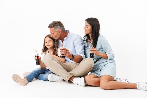 Ritratto di una famiglia sorridente