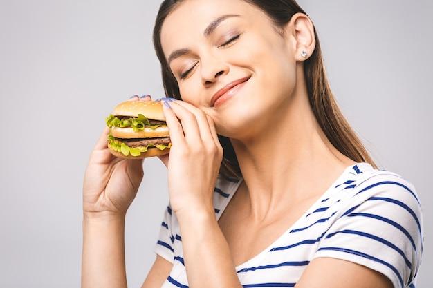 Ritratto donna che mangia