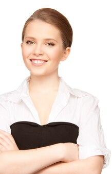 Ritratto di una giovane donna d'affari attraente