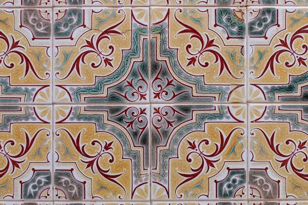 Struttura portoghese azulejo