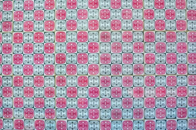 Azulejos portoghesi. reticolo senza giunte dell'acquerello