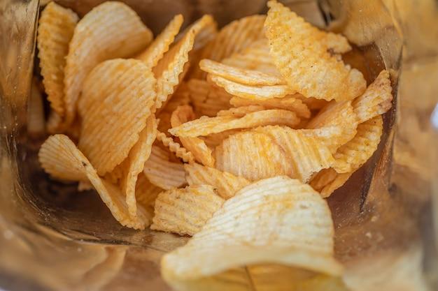 Patatine delizioso condimento per barbecue piccante per patatine fritte fetta sottile snack fritti