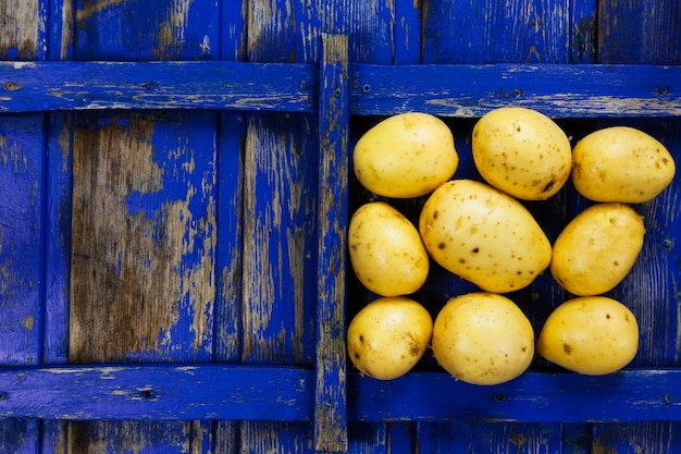 Patate, verdure fresche