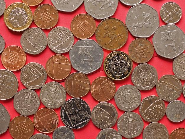 Sterlina monete, regno unito