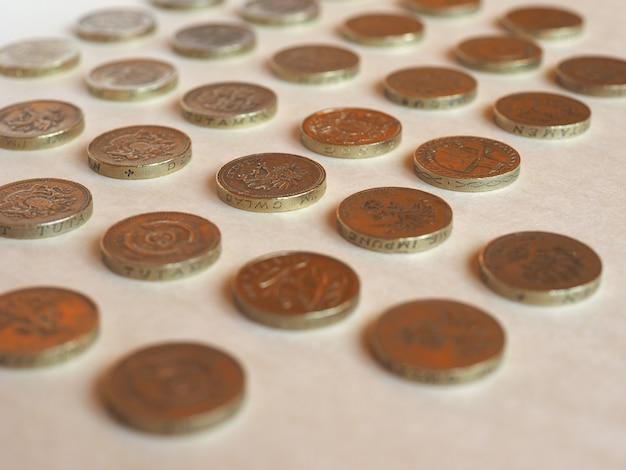 Sterlina (gbp) moneta, regno unito (uk)