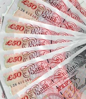 Banconote da una sterlina, regno unito